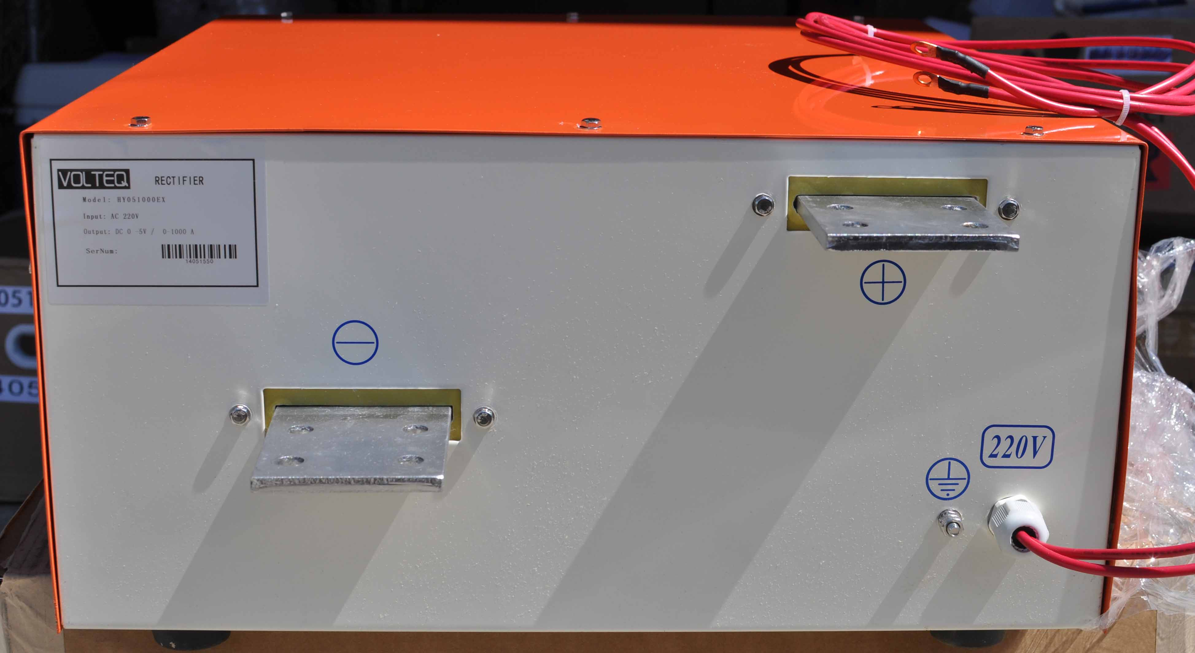 Four new rectifiers for commercial plating and anodizing needs
