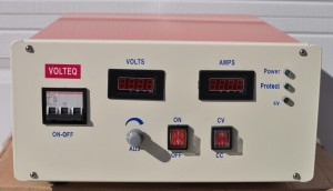 10V 500A plating rectifier from Volteq