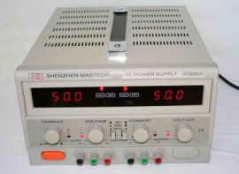 MASTECH LINEAR POWER SUPPLY 50V 5A HY5005D-2 DUAL OUTPUTS