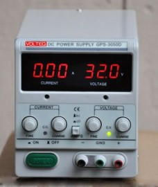 REGULATED VARIABLE DC POWER SUPPLY GPS-3050D 30V 5A